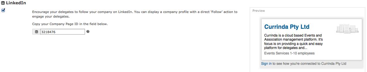 """LinkedInSetup"""