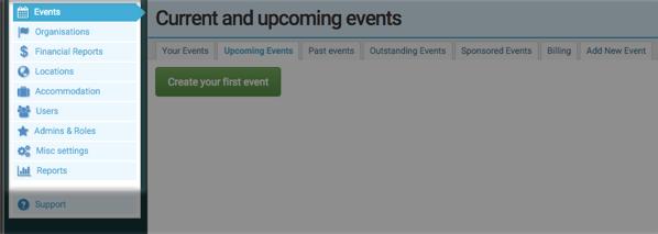 Currinda event software