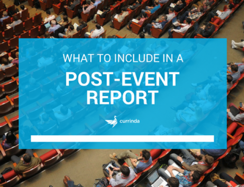 [Template] What to Include in a Post-Event Report